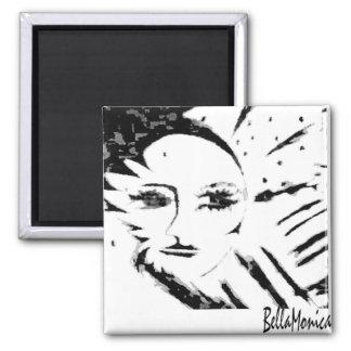 BellaMonica quadratischer Magnet