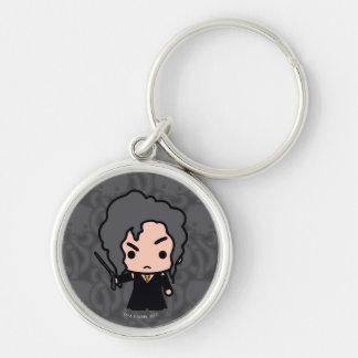 Bellatrix Cartoon-Charakter-Kunst Schlüsselanhänger