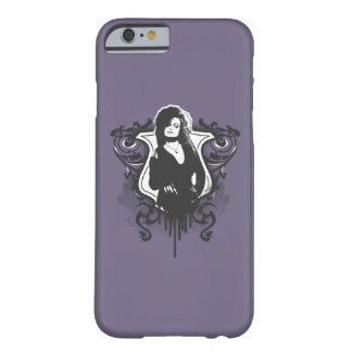 Bellatrix Lestrange dunkler Kunst-Entwurf Barely There iPhone 6 Hülle