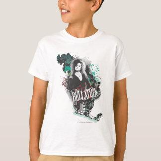 Bellatrix Lestrange Grafik-Logo T-Shirt