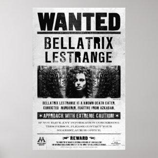 Bellatrix Lestrange wollte Plakat