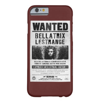 Bellatrix Lestrange wollte Plakat Barely There iPhone 6 Hülle