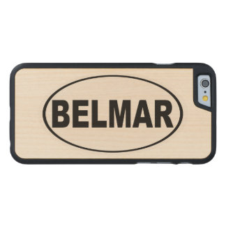 Belmar New-Jersey Carved® iPhone 6 Hülle Ahorn