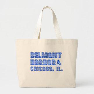 Belmont-Hafen-riesige Boots-Taschen-Tasche Jumbo Stoffbeutel