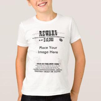 Belohnung $10,000 wollte die toten oder lebendigen T-Shirt