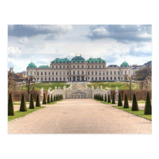 Belvedere Wien Österreich Postkarte