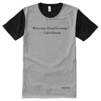 bemannt T-Shirt motivierend Zitat