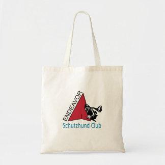 Bemühung Schutzhund Verein-Logo-Tasche Tragetasche