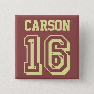 Ben Carson 16 Quadratischer Button 5,1 Cm