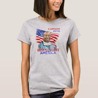 Ben Carson-Beleben Flagge Amerikas 2016 USA wieder T-Shirt
