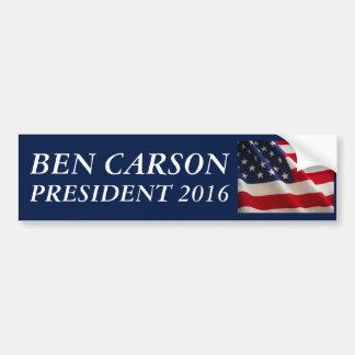 Ben Carson für Präsidenten 2016 Autoaufkleber