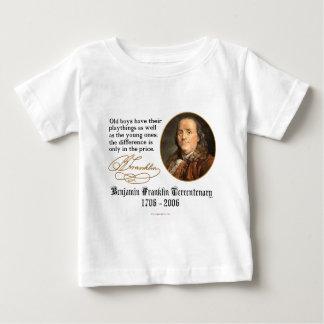 Ben Franklin - die Spielwaren der Jungen Baby T-shirt