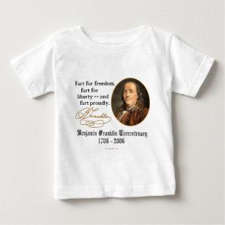 Ben Franklin - Furz stolz Baby T-shirt