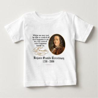 Ben Franklin - Kontrolle Baby T-shirt