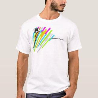 Benachteiligt-Sieg-Neon-Streifen T-Shirt