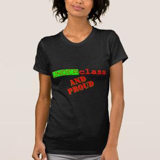 Benachteiligte Bevölkerungsgruppe und stolzes T-Shirt
