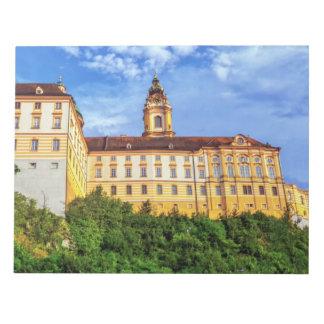Benediktinerabtei, Melk, Österreich Notizblock