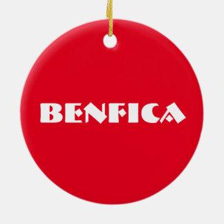 Benfica Kreis-Verzierung Rundes Keramik Ornament