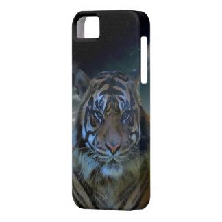 Bengalische Tiger| Watercolor-wilde Tier-Fantasie iPhone 5 Hüllen