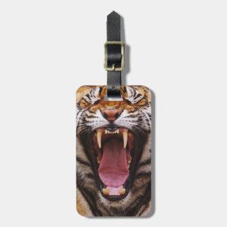 Bengalischer Tiger, Panthera der Tigris 2 Kofferanhänger