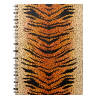 Bengalischer Tiger-Tier-Pelz Notizblock