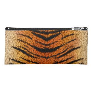 Bengalischer Tiger-Tier-Pelz Stiftetasche