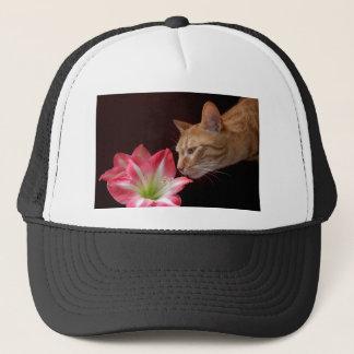 Bengalisches Katzen-Amaryllis jjhelene Truckerkappe