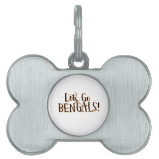 Bengals Druck Tiermarke