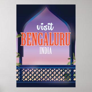 Bengaluru Indien Vintages Reiseplakat Poster
