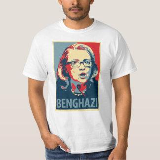 Benghazy T - Shirt - Obama-Plakatparodie