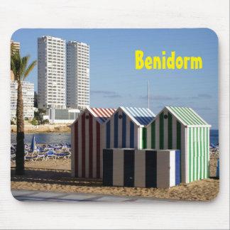 Benidorm, Strand von dem Osten, Mousepad