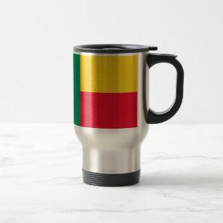 Benin-Flagge Reisebecher