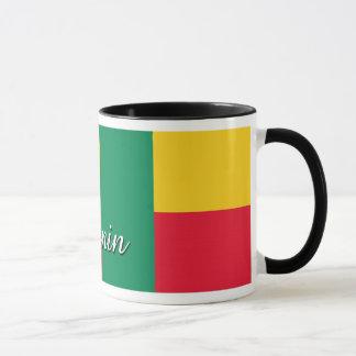 Benin-Flaggen-Kaffee-Tasse Tasse