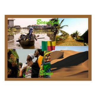 Benin-Postkarte Postkarte