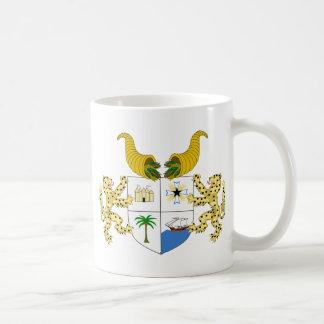 Benin-Wappen Kaffeetasse