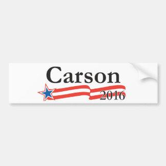 Benjamin Carson für Präsidenten 2016 Autoaufkleber