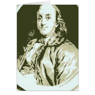 Benjamin Franklin Karte