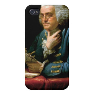 Benjamin Franklin-Porträt durch David Martin 1767 iPhone 4 Schutzhülle