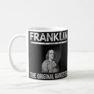 Benjamin Franklin zitiert Tasse - ursprünglichen