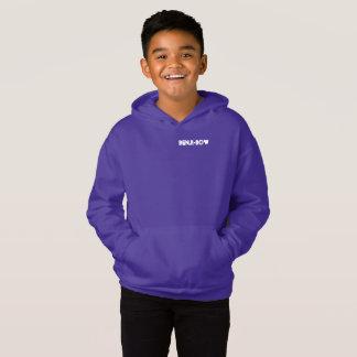 Benji-Bogen Fleece-Pullover Hoodie