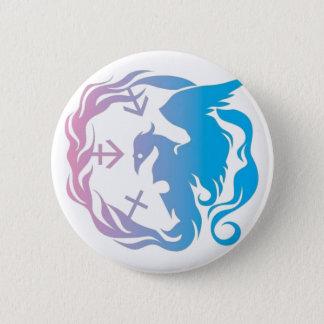 Benjis Wandschrank-Logo-Knopf Runder Button 5,7 Cm