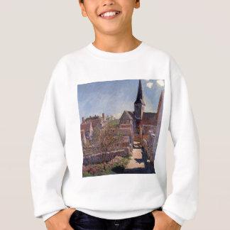 Bennecourt durch Claude Monet Sweatshirt