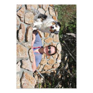 Bennett - australisches Mini - Rosie - Carmel Magnetische Karte