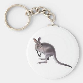 Bennetts Wallaby Keychain Schlüsselanhänger