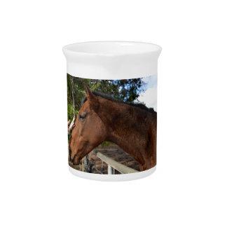Bennie das Pferd, das ein Pat liebt Getränke Pitcher