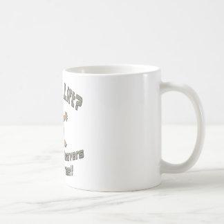 Benötigen Sie eine freie Aufzug-freche Biber-Fahrt Kaffeetasse