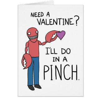 """""""Benötigen Sie einen Valentinsgruß?"""" Karte"""