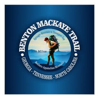 Benton MacKaye Spur (Wanderer C) Poster
