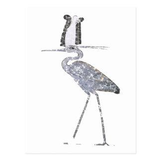 Benu Vogel Postkarte