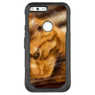 Beobachten der Katze OtterBox Commuter Google Pixel XL Hülle